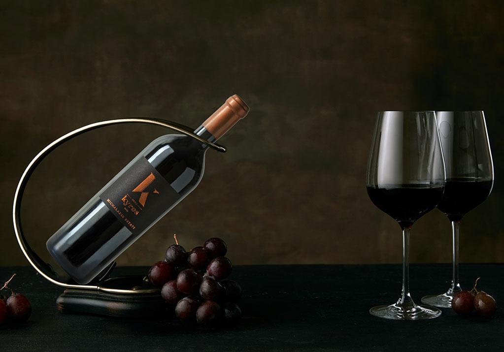 Wine Tasting Room - Michalakis Wines